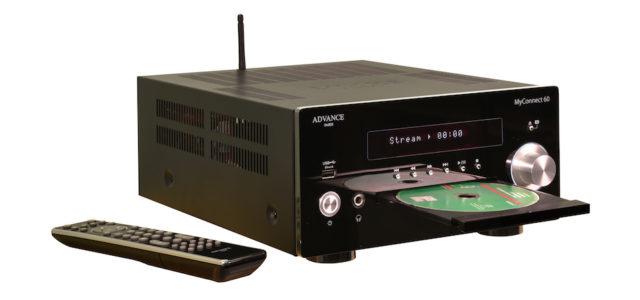 Audiophiler Alleskönner im Kompaktformat: Der MyConnect 60 von Advance Paris