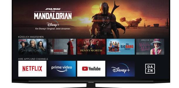 Unterhaltung al Gusto: Grundigs Entertainment-Allrounder unter den TVs jetzt im Handel