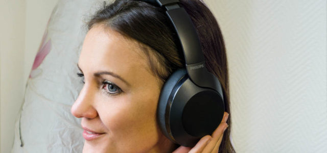 Philips PH805 – Active Noise Canceling Kopfhörer mit hohem Tragekomfort