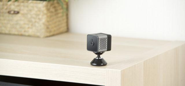 7links Micro-IP-Kamera IPC-80.mini: Das Wohnzimmer oder Büro im Blick behalten