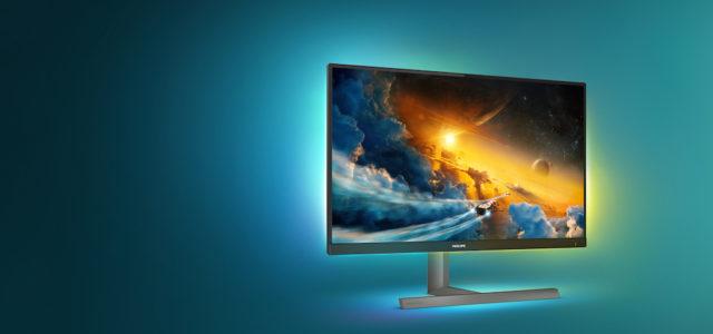Neu: Philips Monitore setzt Maßstäbe für Konsolenspiele mit den 55″- und 27″-Modellen