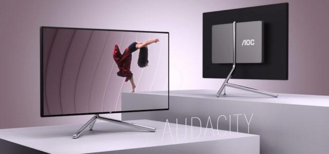 Premium-Display U32U1 von AOC – vom Studio F. A. Porsche designt