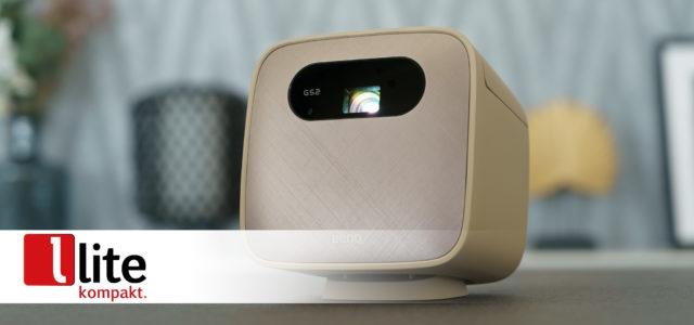 BenQ GS2 – Portabler Projektor mit Akku und Mediaplayer für spontane Heimkinosessions