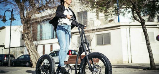 Urban Drivestyle: Allzweck-Elektro-Roller für die Stadt
