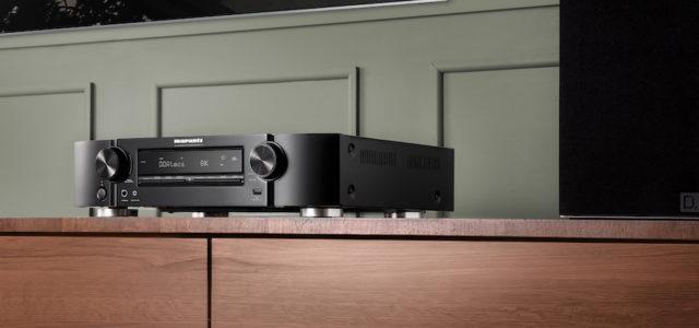 Marantz präsentiert neuen 8K Ultra HD-fähigen Slimline AV-Receiver
