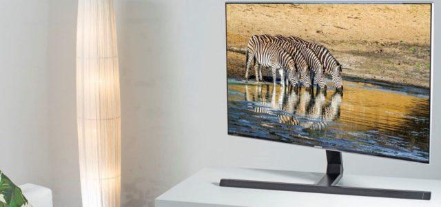 Hama: Flexibler TV-Standfuß für schmale Möbel