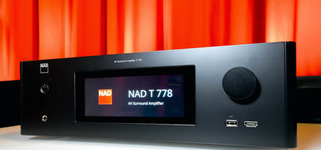 NAD T 778 – 4K-AV-Receiver mit Touch-Display, Dolby Atmos, HiRes und Multiroom