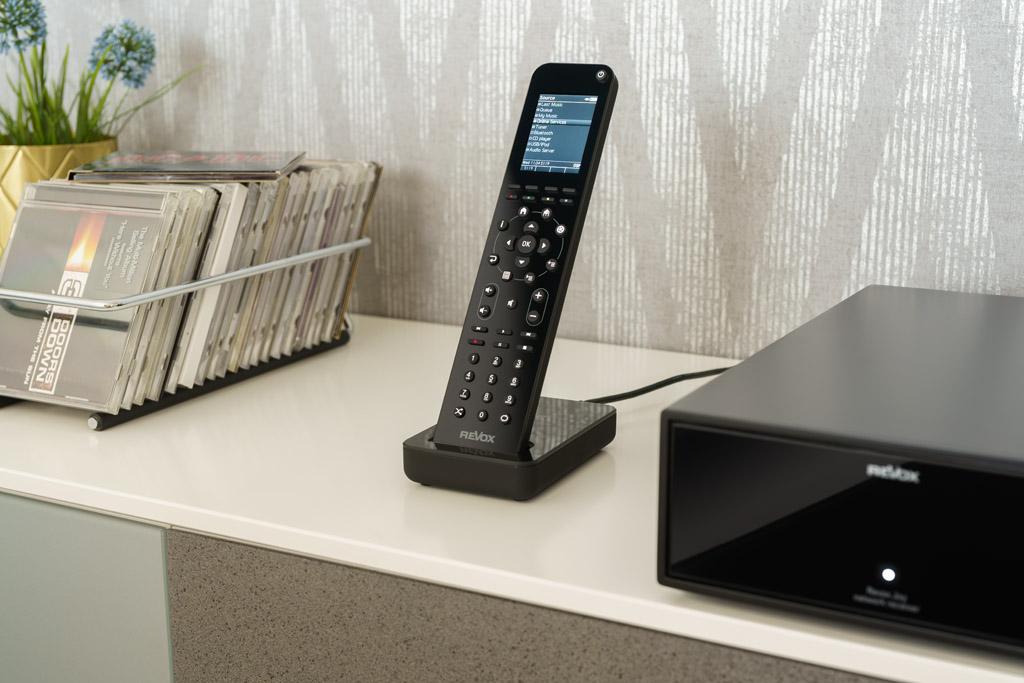 Alternativ lassen sich die Joy-Komponenten über die optionale Funkfernbedienung steuern.