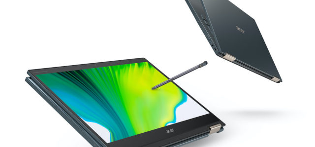 Acer präsentiert neues Spin 7 mit Qualcomm Snapdragon 8cx 5G-Prozessor der zweiten Generation