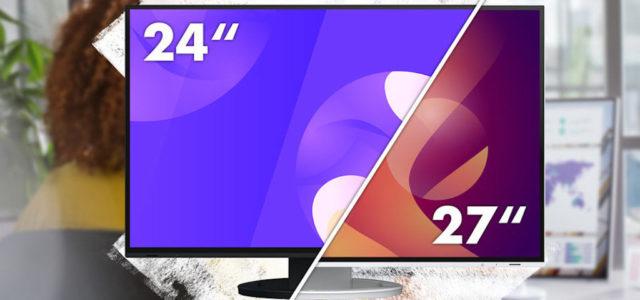 FlexScan EV2495 und EV2795: EIZO präsentiert neue Monitore mit USB-C-Docking