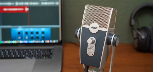 AKG Lyra Ultra-HD: Multimode USB-Mikrofon für Podcaster und YouTuber