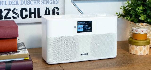 Kenwood CR-ST100S: Modernes Smart-Radio mit Spotify Connect und vielen Extras