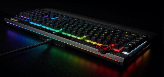 Konkurrenzlos – die neue Corsair K100 RGB Gaming-Tastatur