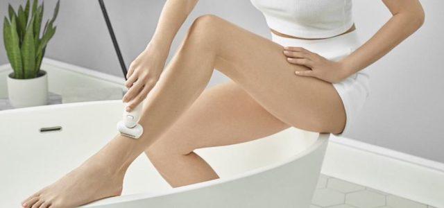Lena Gercke vertraut dem Braun Silk-épil 9 Flex für langanhaltend glatte Haut
