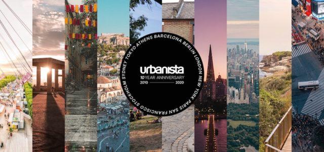 Urbanista feiert 10-jähriges Markenbestehen