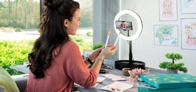 Hama LED-Ringleuchten – perfekt für Blogger und Vlogger