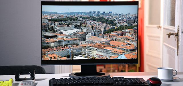 Eizo EV2495-BK FlexScan –  Flexibler 24 Zoll Office-Monitor für Arbeit und Spaß