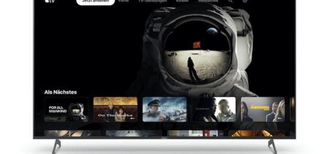 Sony bringt die Apple TV App auf ausgewählte Smart TVs