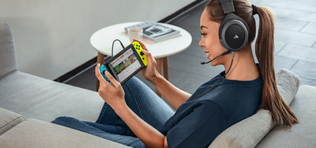 Corsair präsentiert das HS70 BLUETOOTH Gaming-Headset