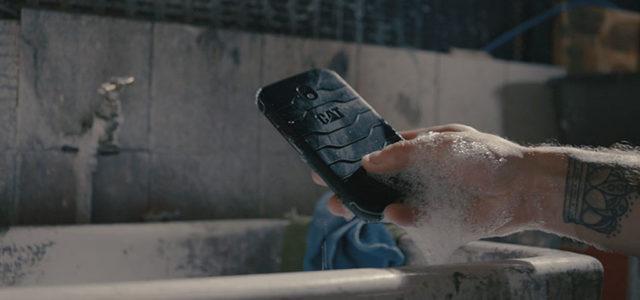 Das erste vollständig antibakterielle Smartphone: Das robuste Cat S42