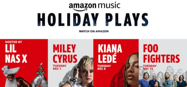 """Amazon Music Holiday Plays"": Miley Cyrus startet am 1. Dezember die Konzertreihe"