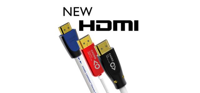 Die nächste Generation HDMI-Kabel der Chord Company