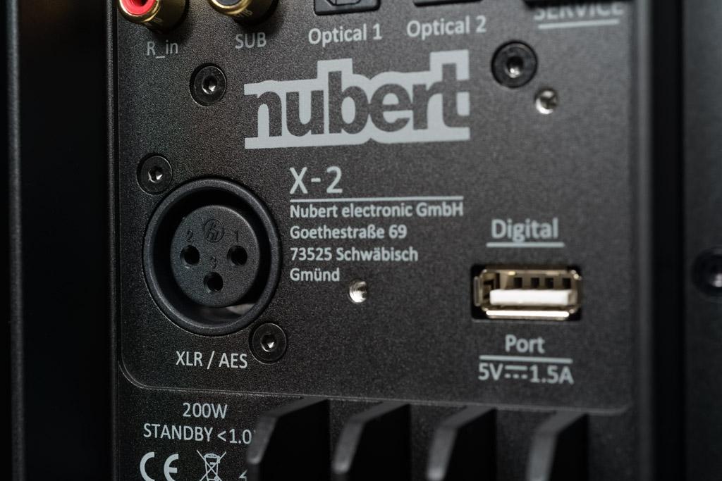 Das audiophile Highlight ist der XLR-Eingang: Er kann analog als symmetrischer Input genutzt werden oder digital als AES/EBU-Schnittstelle.