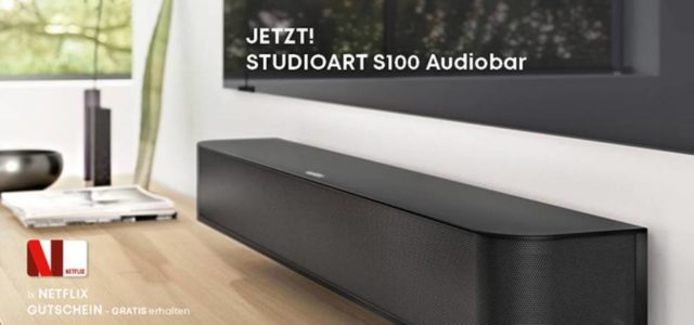 Revox STUDIOART S100 Audiobar-AKTION mit Netflix-Abo