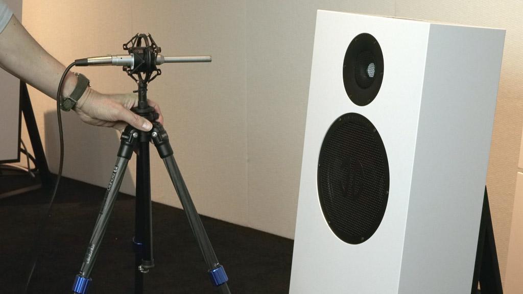 Lyravox bietet eine optionalen Einmess-Service an, mit dem die Lautsprecher perfekt auf den Raum, in dem sie spielen, abgestimmt werden.