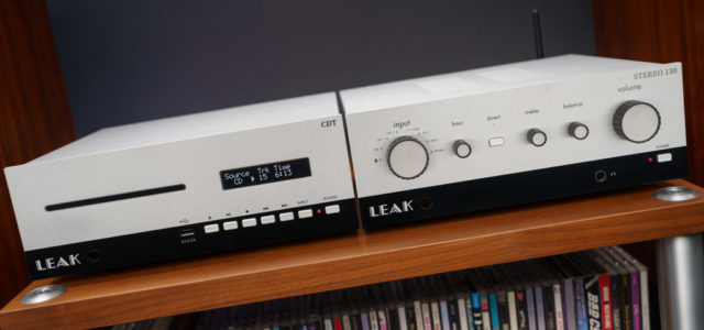 Leak Audio Stereo 130 und CDT – Moderne Klang-Highlights im Retro-Design