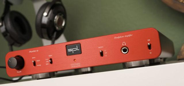 Kopfhörer-Verstärker SPL Phonitor se – Einstieg ins Elysium