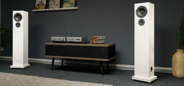 Seta Audio Rubicca – Schlanke Säule für impulsstarken, ehrlichen Sound