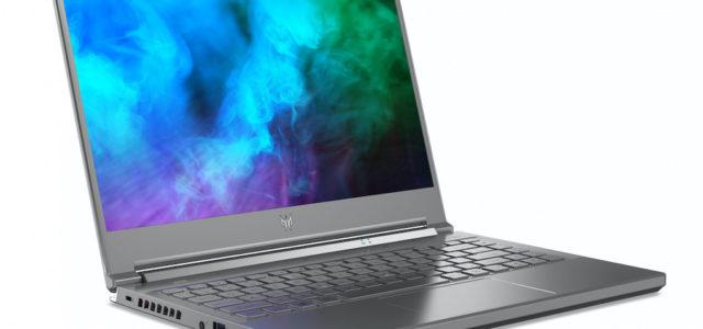 Acer erstes 14 Zoll Gaming Notebook und neue Intel CPUs und NVIDIA GPUs