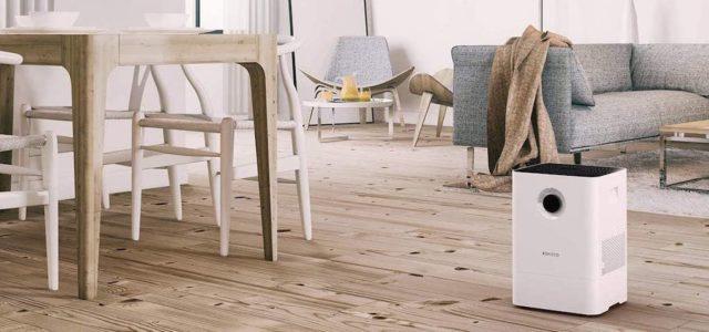 Gesunde Luft, egal ob zu Hause oder im Büro mit dem Luftbefeuchter und Luftwäscher W200
