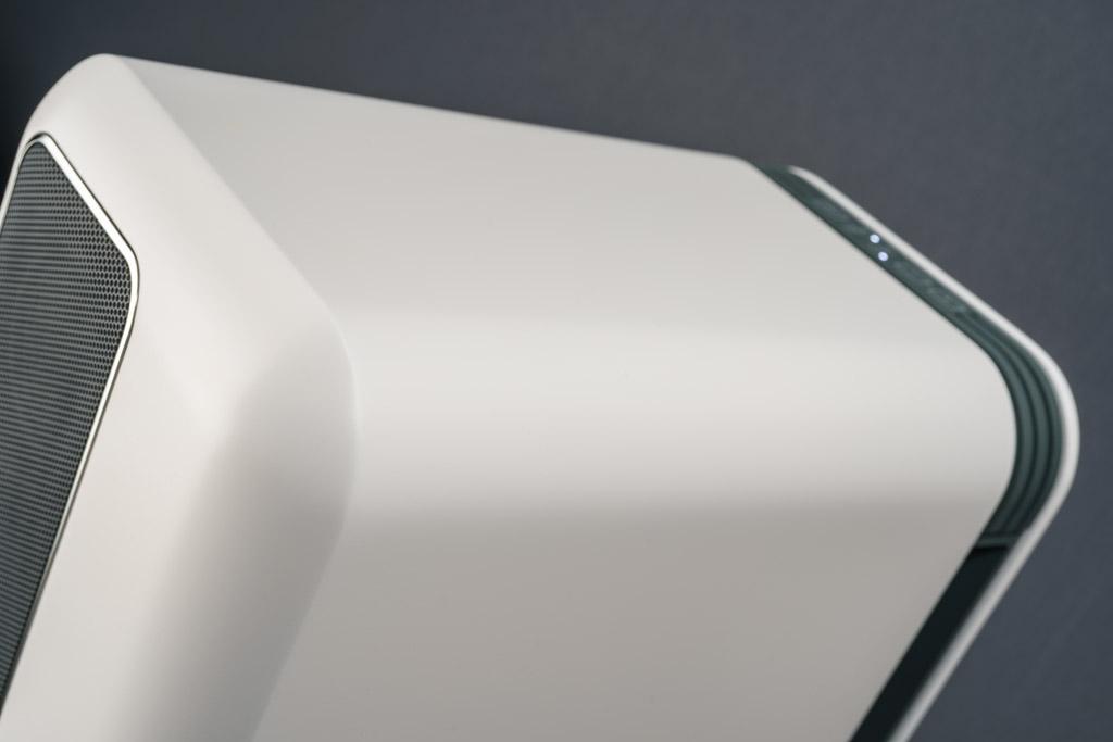 Durch die schlanke, geschmeidige und zugleich akzentuierte Formgebung ist das Q Active 200 überaus wohnraumfreundlich.