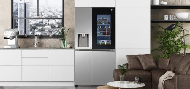 LG präsentiert innovative LG Instaview Kühlschränke auf der CES 2021