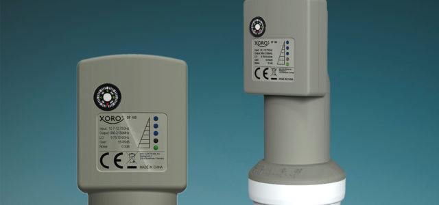 Single Universal LNB mit integriertem SAT-Finder und Kompass von Xoro