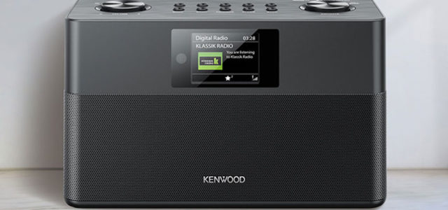 Neues DAB+ und Bluetooth-Radio Kenwood CR-ST80DAB