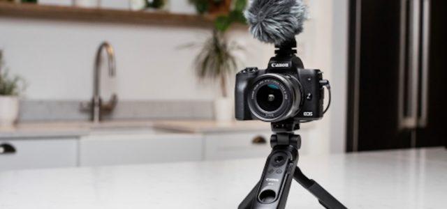 Neue Kamera für Vlogger und Content Creator: die Canon EOS M50 Mark II