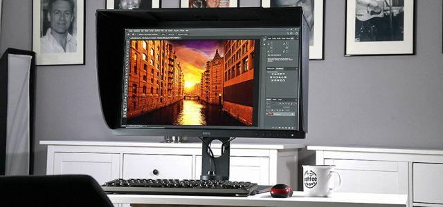 BenQ SW271C – 27 Zoll-Profi-Monitor für Fotografen mit 4K/UHD, HDR und USB-C