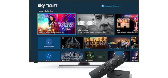 Amazon: Sky Ticket in Deutschland jetzt auf Fire TV-Geräten verfügbar