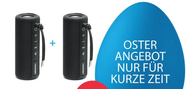 Soundupgrade zu Ostern: Ausgewählte Blaupunkt Speaker mit True Wireless Stereo Funktion im Spar-Bundle