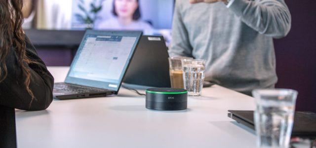 EPOS unterstützt hybriden Arbeitsplatz mit intelligentem Lautsprecher für Microsoft Teams Rooms