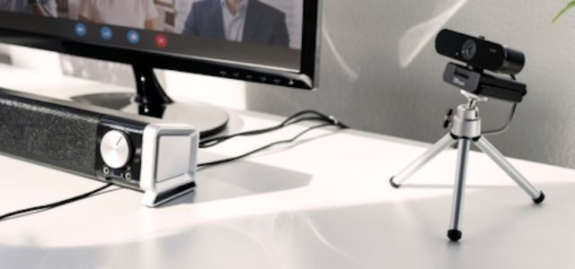 TRUST stellt neue 2K-Webcam für hochwertige Videogespräche vor