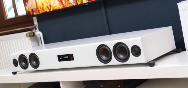 Nubert nuPro XS-7500 – Mächtige Soundbar für Stereo in Perfektion