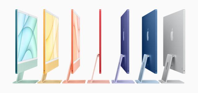 Apple stellt neuen iMac mit M1-Chip in atemberaubendem Design vor