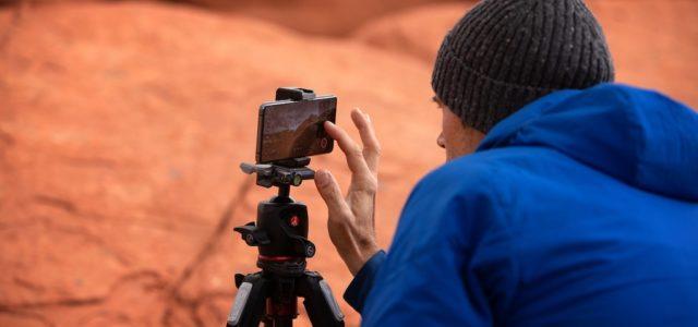 Mit dem OPPO Find X3 Pro 5G in der Mojave-Wüste