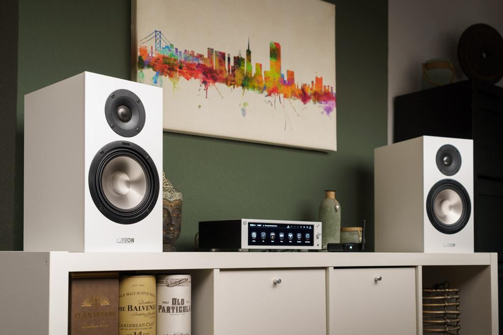 Die Canton GLE 30 ist die größte Kompaktbox der Reihe – und bietet die akustische Qualität der GLE-Serie bei wohnraumfreundlichen Dimensionen.