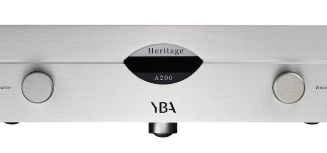 Heritage A200 Vollverstärker von YBA ist da
