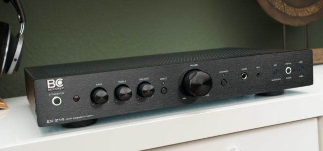 BC Acoustique EX-214 – DAC, Bluetooth, Vinyl-Vorbereitung und ordentlich Leistung zum Hammerpreis